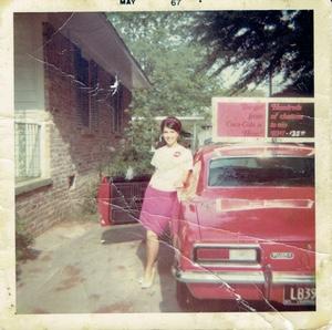 Carol as the Girl from Coke in 1967