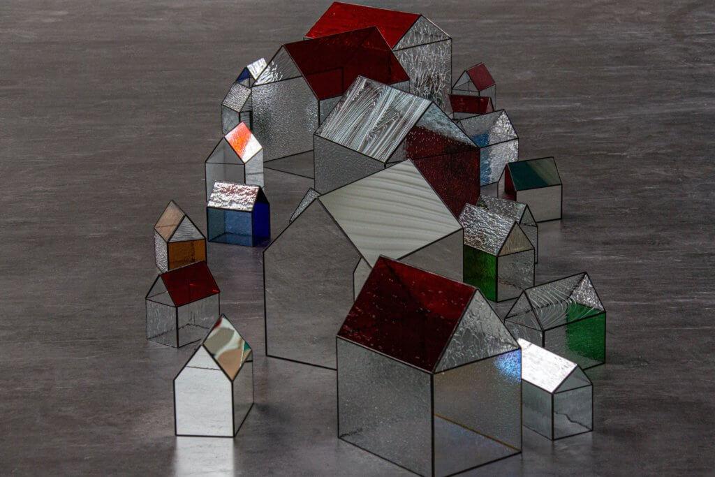 Many glass houses