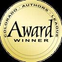 sticker for Colorado Authors League Award Winner